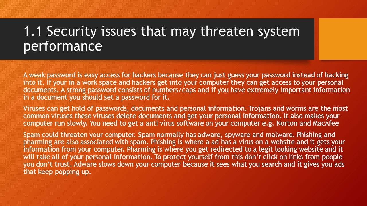 It security for users by matthew moody ppt video online Should i get a security system