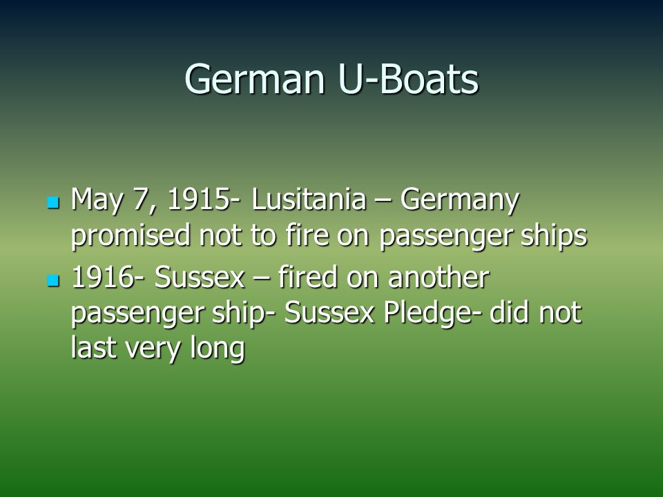 In the sussex pledge germany promised pic 350
