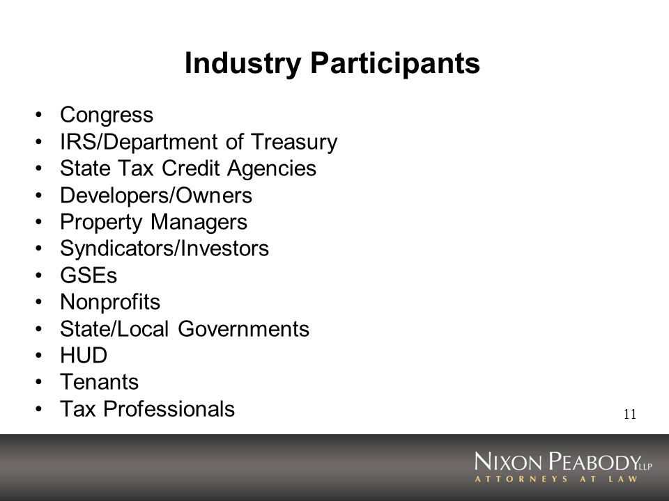 Industry Participants