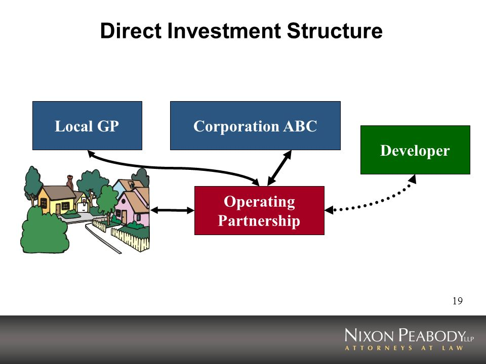 Direct Investment Structure