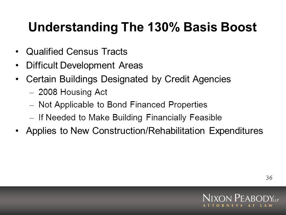 Understanding The 130% Basis Boost