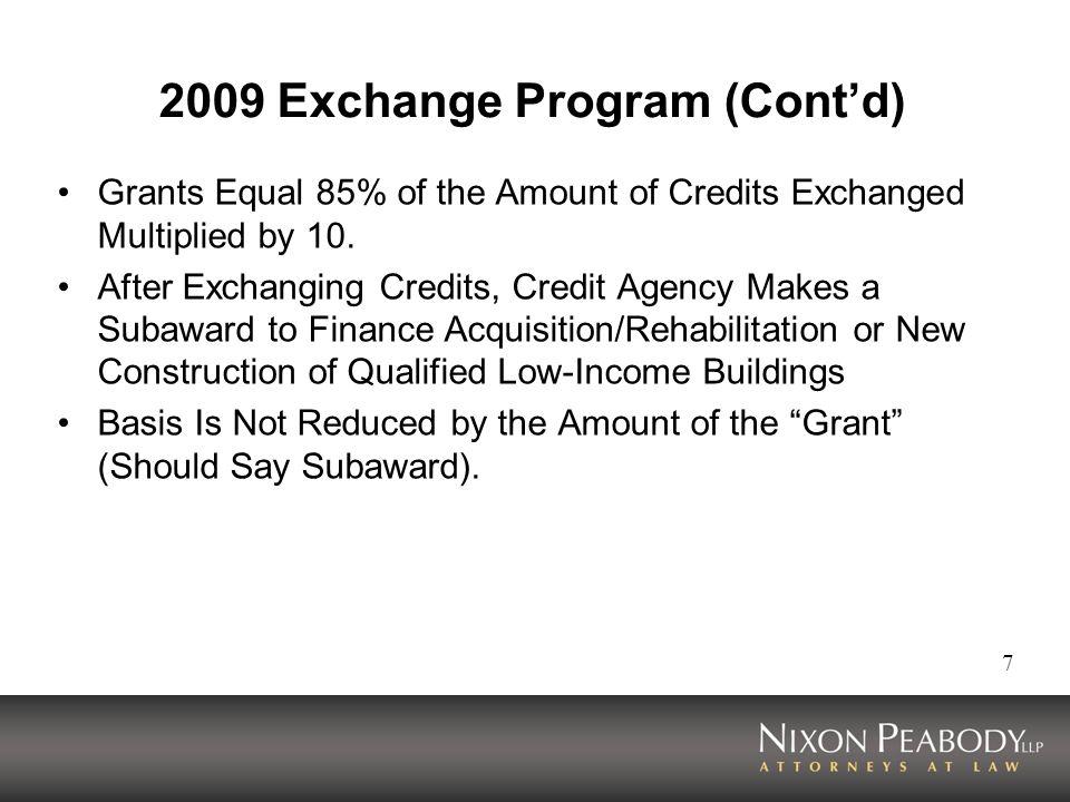2009 Exchange Program (Cont'd)