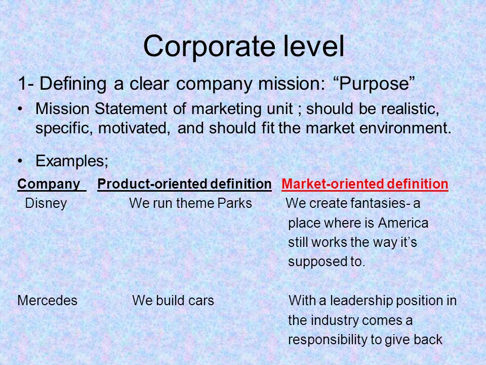 marketing orientation with in the renault company marketing essay The role of marketing a firm's market orientation marketing's value, in turn, is found to be a function of the degree to which it develops.