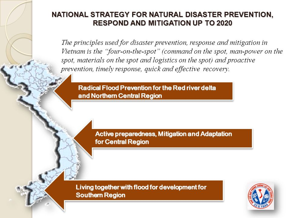 NATIONAL STRATEGY FOR NATURAL DISASTER PREVENTION, RESPOND AND MITIGATION UP TO 2020