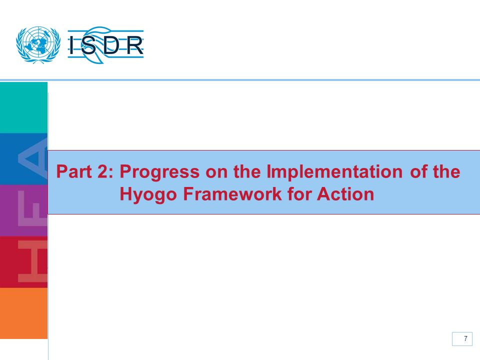 Part 2: Progress on the Implementation of the