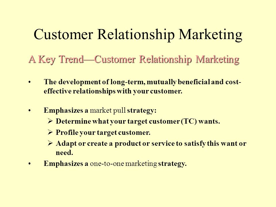customer relationship marketing strategy Crm or customer relationship management is a strategy for managing an organisation's relationships and interactions with customers and potential customers.