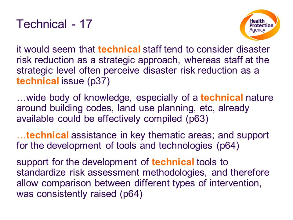 Technical - 17