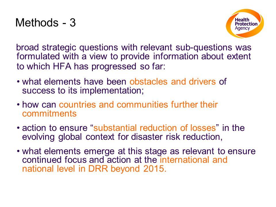 Methods - 3