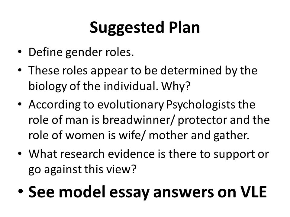 gender roles and culture essay example