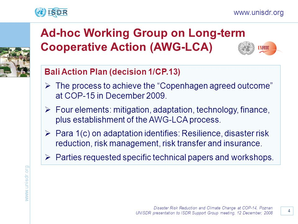 Ad-hoc Working Group on Long-term Cooperative Action (AWG-LCA)