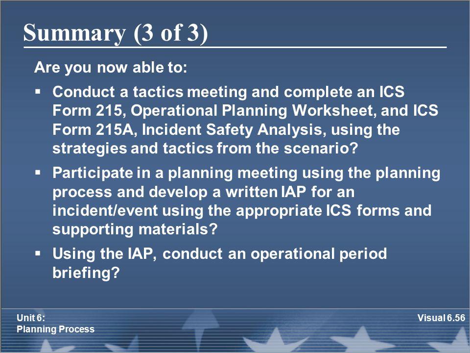 Unit 6: Planning Process - ppt download