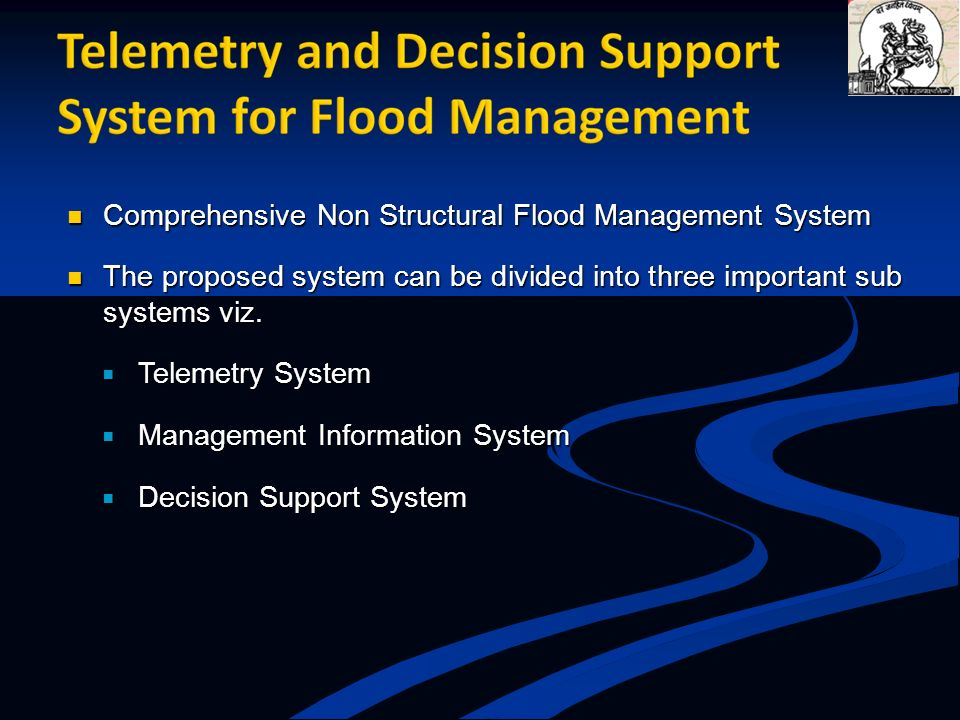 Comprehensive Non Structural Flood Management System