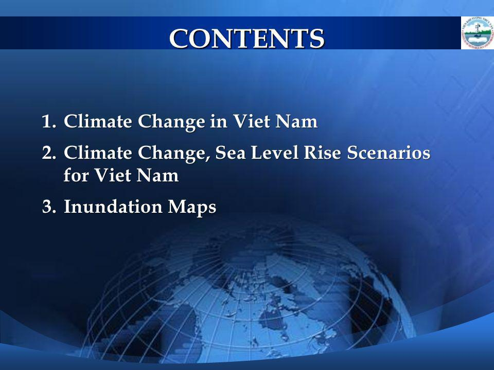 CONTENTS Climate Change in Viet Nam