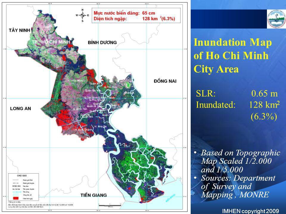 Inundation Map of Ho Chi Minh City Area