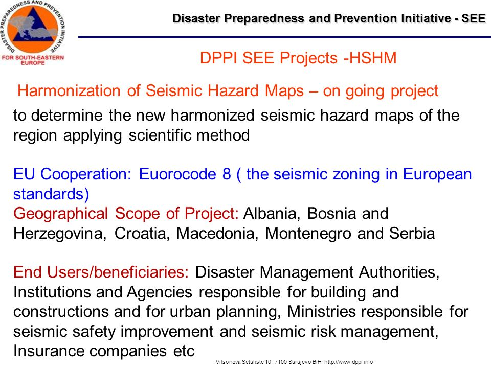DPPI SEE Projects -HSHM