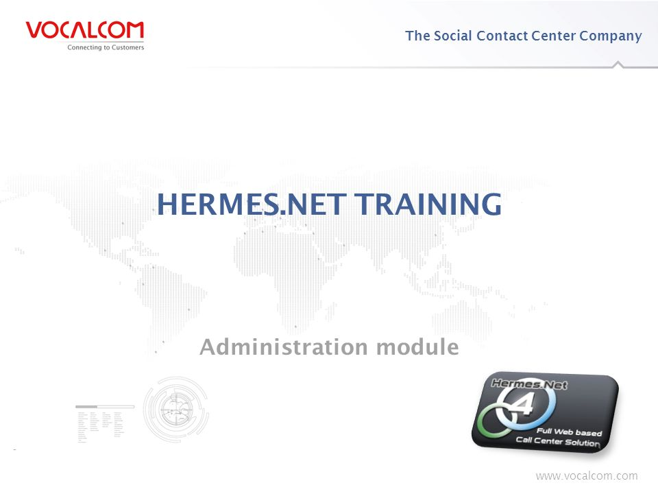 HERMES.NET Training – Administration Module - ppt download