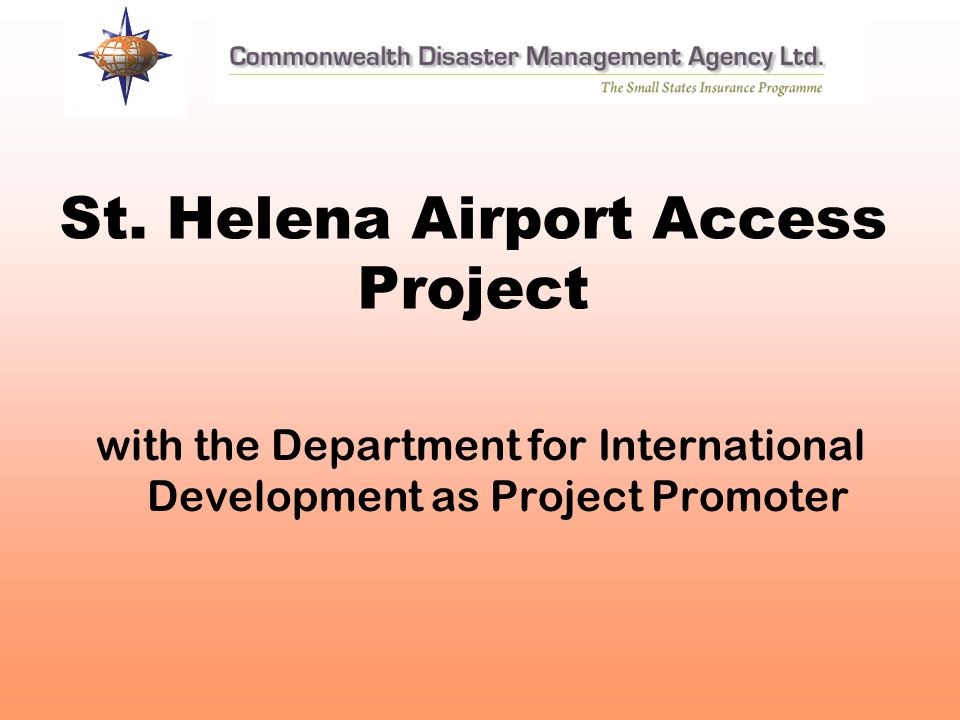 St. Helena Airport Access Project