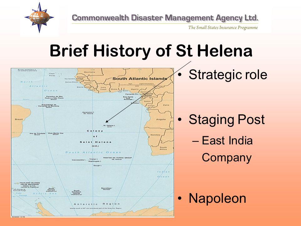 Brief History of St Helena