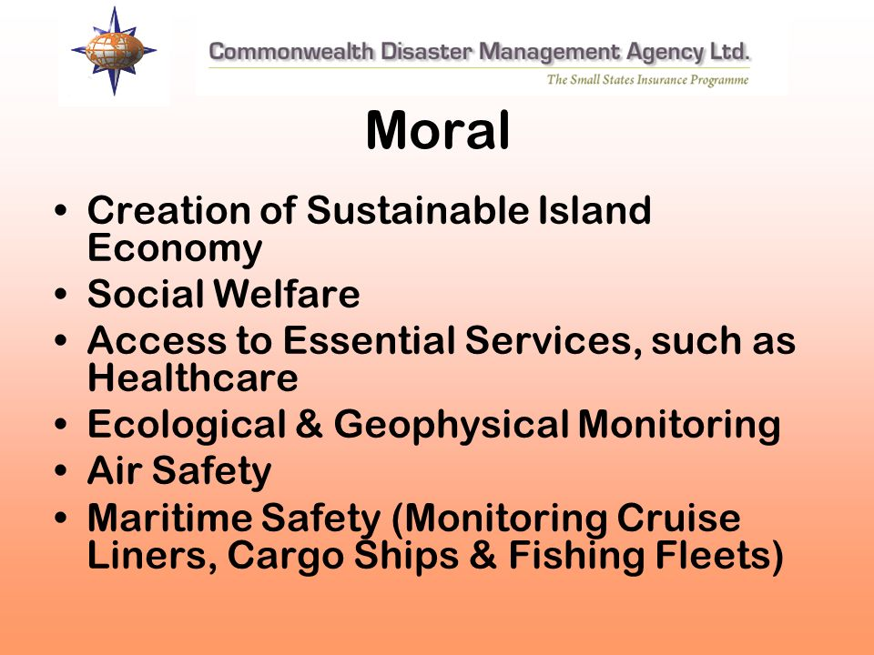 Moral Creation of Sustainable Island Economy Social Welfare