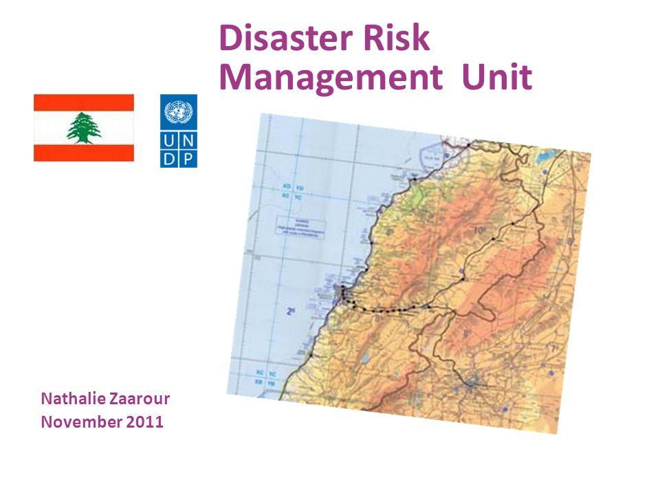 Disaster Risk Management Unit