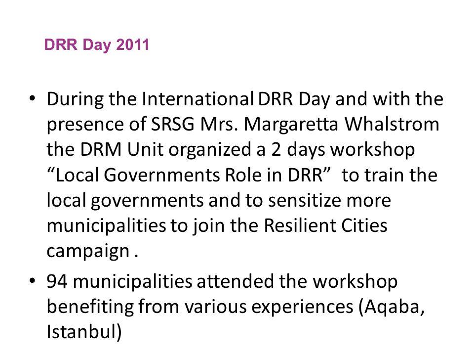 DRR Day 2011