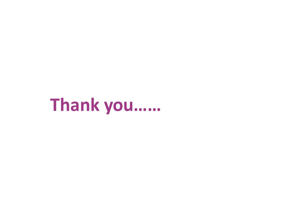 Thank you…… www.unisdr.org/campaign