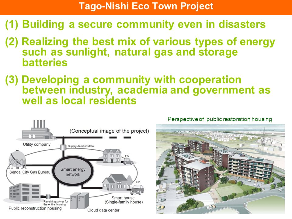 Tago-Nishi Eco Town Project
