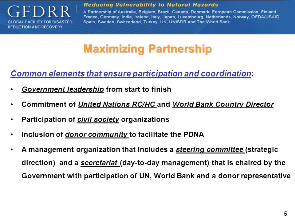 Maximizing Partnership