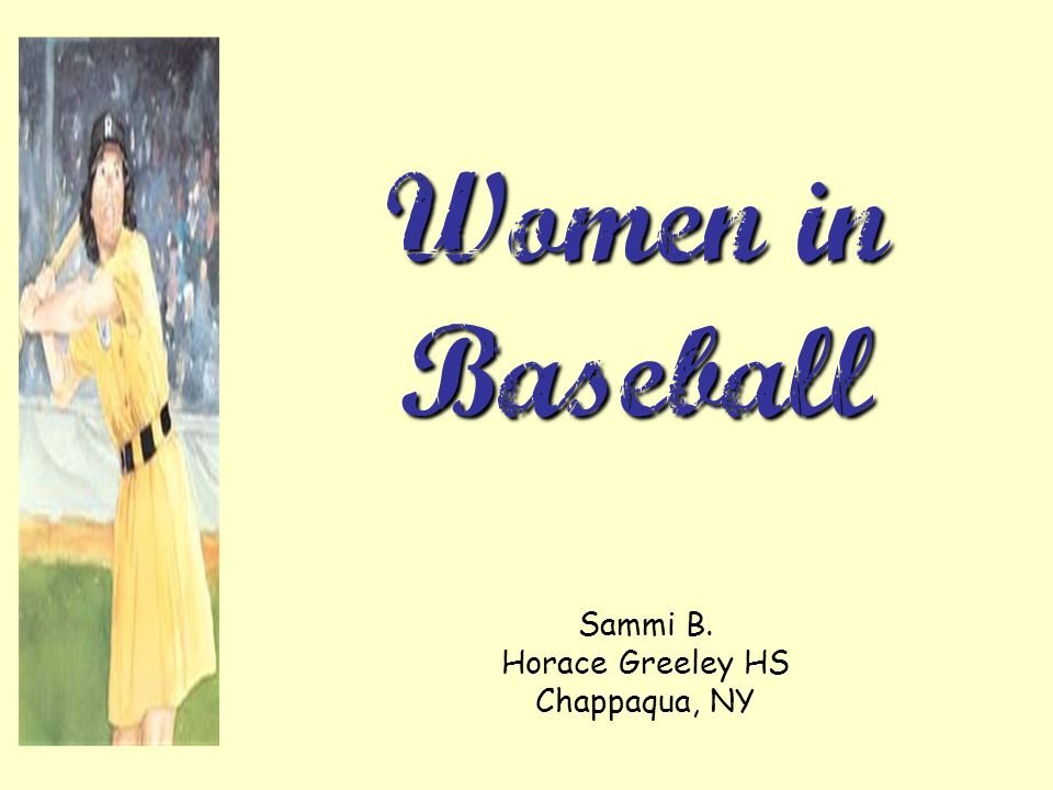 Sammi B. Horace Greeley HS Chappaqua, NY