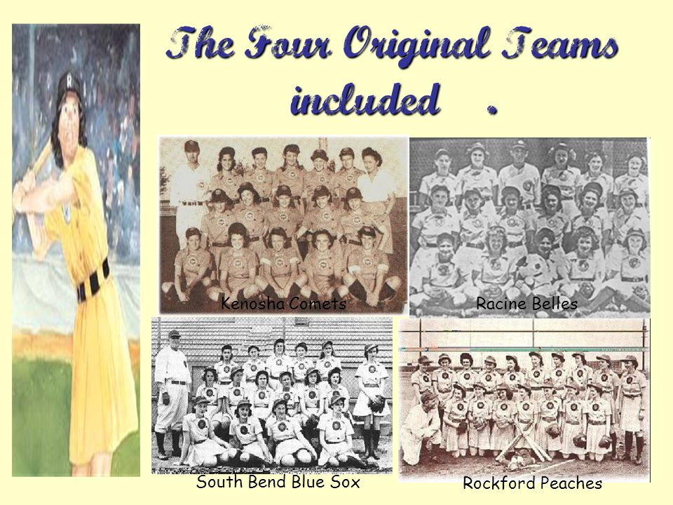 The Four Original Teams included….