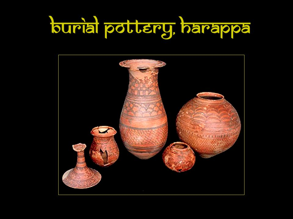 Burial Pottery, Harappa