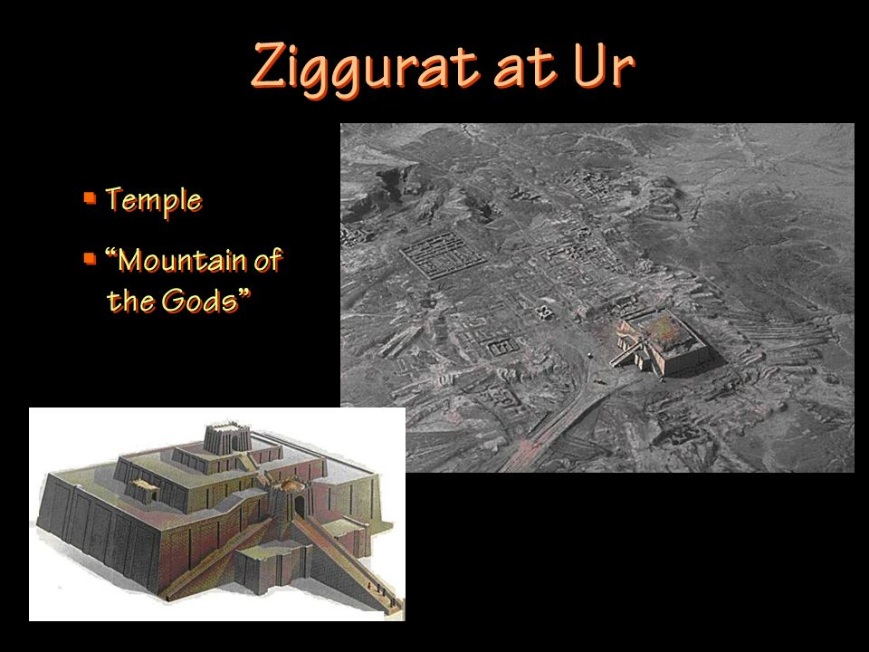 Ziggurat at Ur Temple Mountain of the Gods
