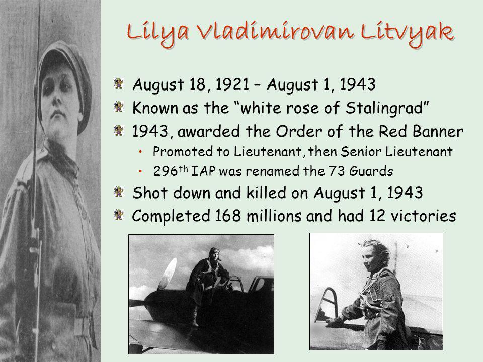 Lilya Vladimirovan Litvyak