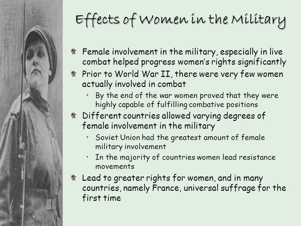 Effects of Women in the Military