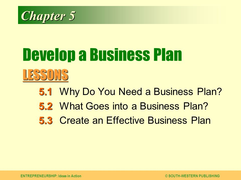 why do businesses need a business plan