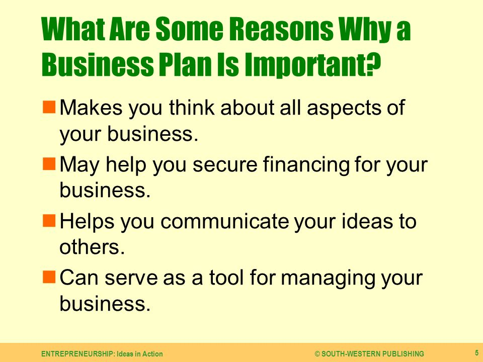Financial Aspects of Business
