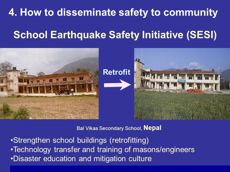 School Earthquake Safety Initiative (SESI)