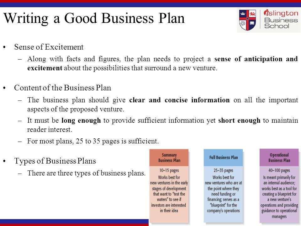 Management Summary Business Plan