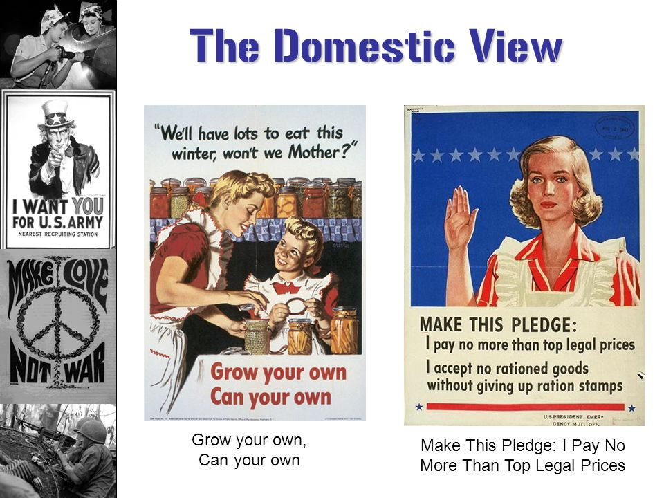 The Domestic View Grow your own, Can your own