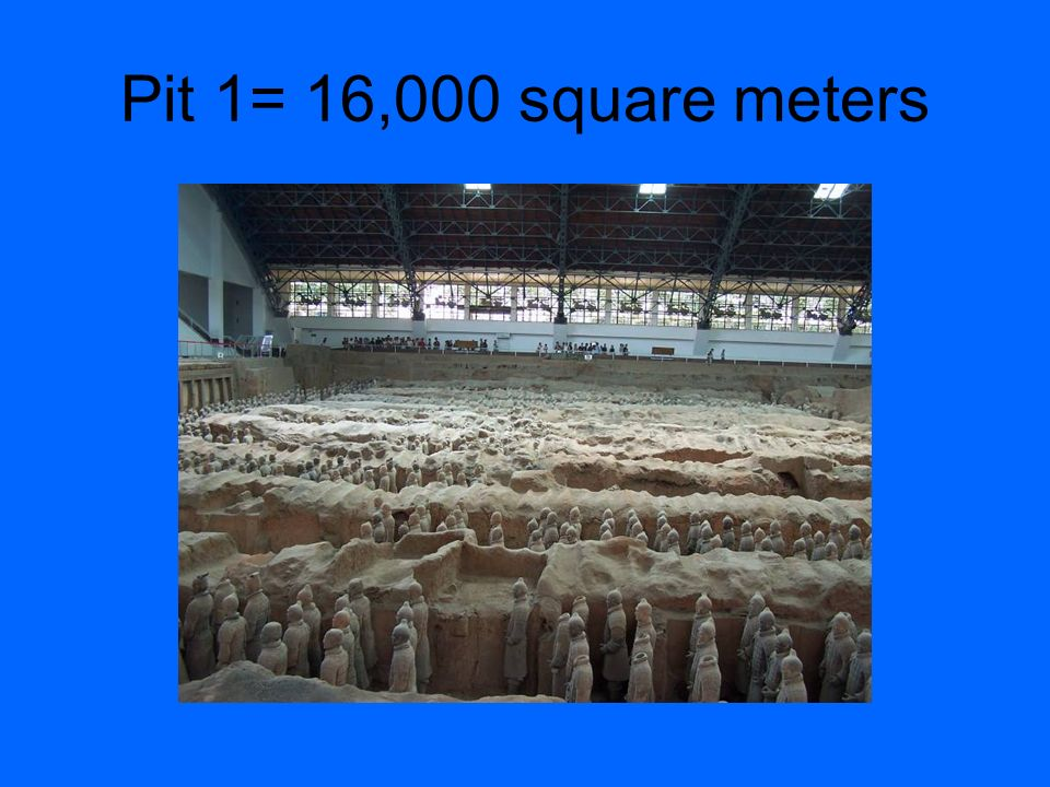 Pit 1= 16,000 square meters
