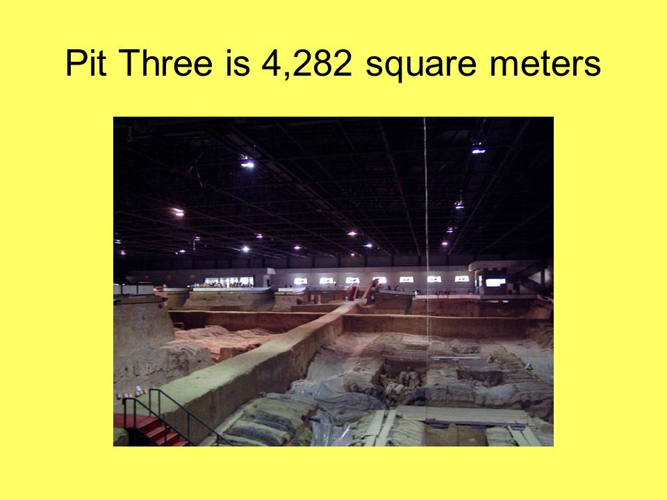 Pit Three is 4,282 square meters