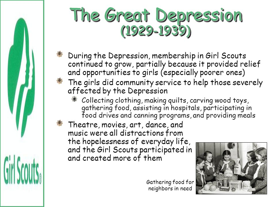 The Great Depression (1929-1939)