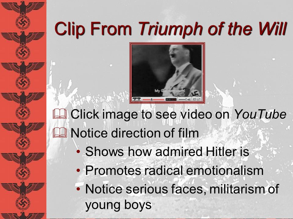 Clip From Triumph of the Will