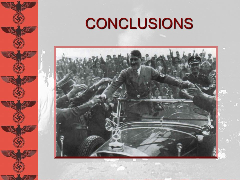CONCLUSIONS David E. Schneyer Anti-Intellectualism in Nazi Germany