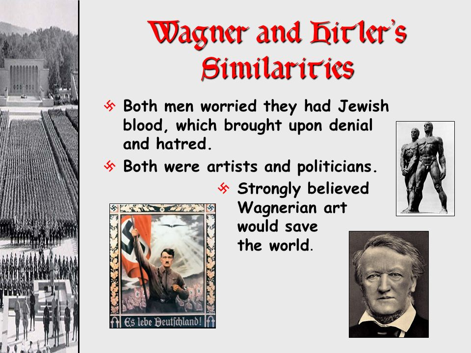 Wagner and Hitler's Similarities