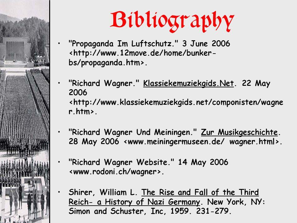 Bibliography Propaganda Im Luftschutz. 3 June 2006 <http://www.12move.de/home/bunker-bs/propaganda.htm>.