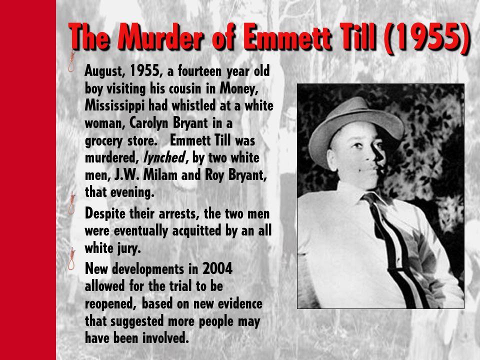 The Murder of Emmett Till (1955)
