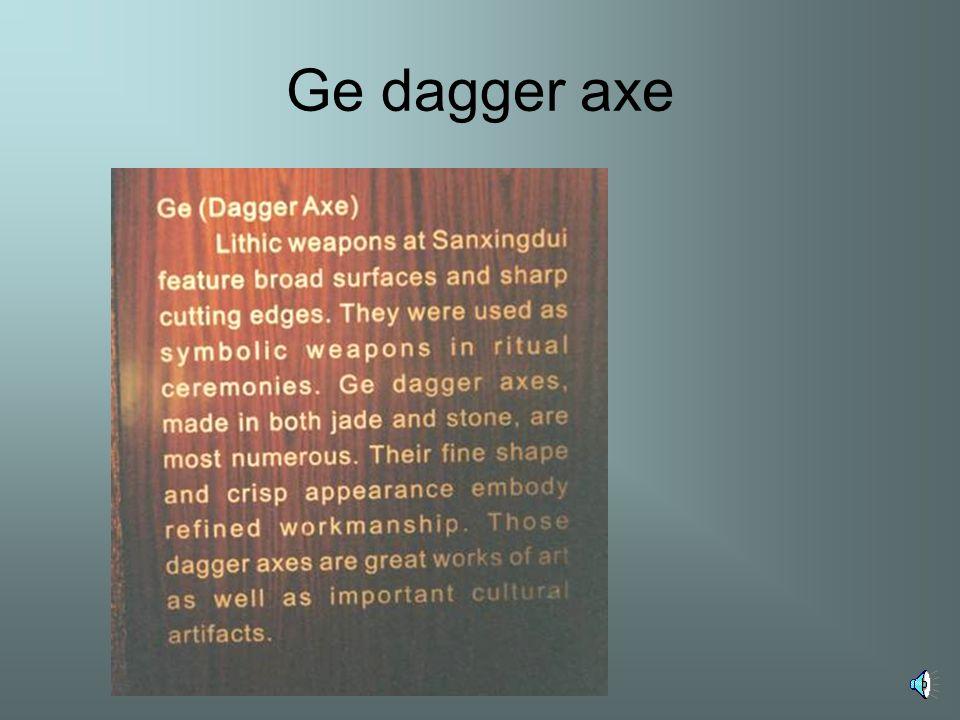 Ge dagger axe