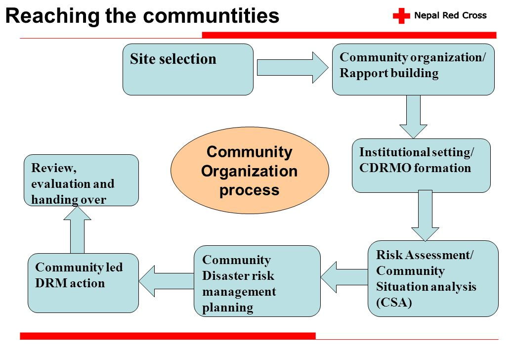 Community Organization process