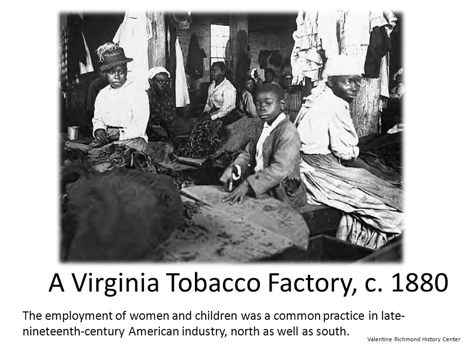 A Virginia Tobacco Factory, c. 1880